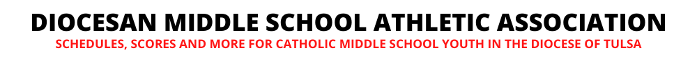 Schedules, Scores and More for Tulsa Middle School Catholic Youth